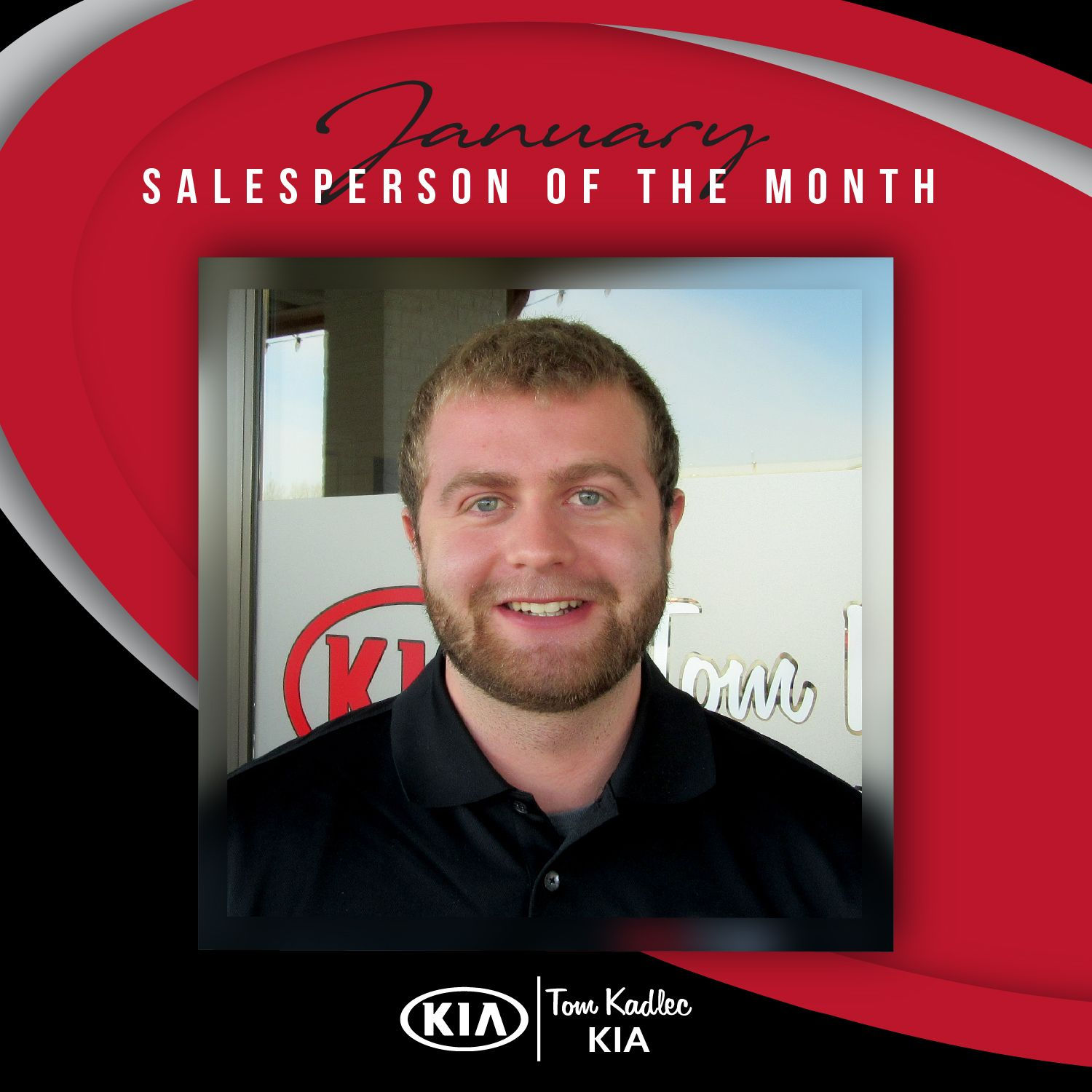 Jan Salesperson Of The Month Months Salesperson Greatful