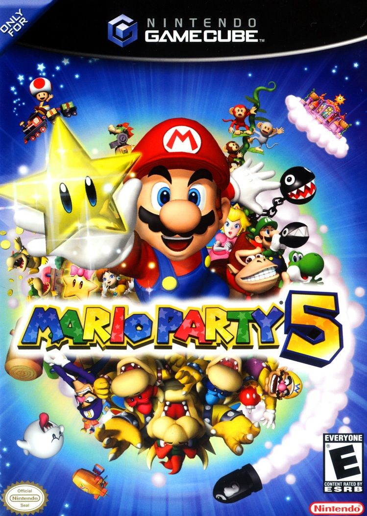Mario party 5 with images gamecube games mario party