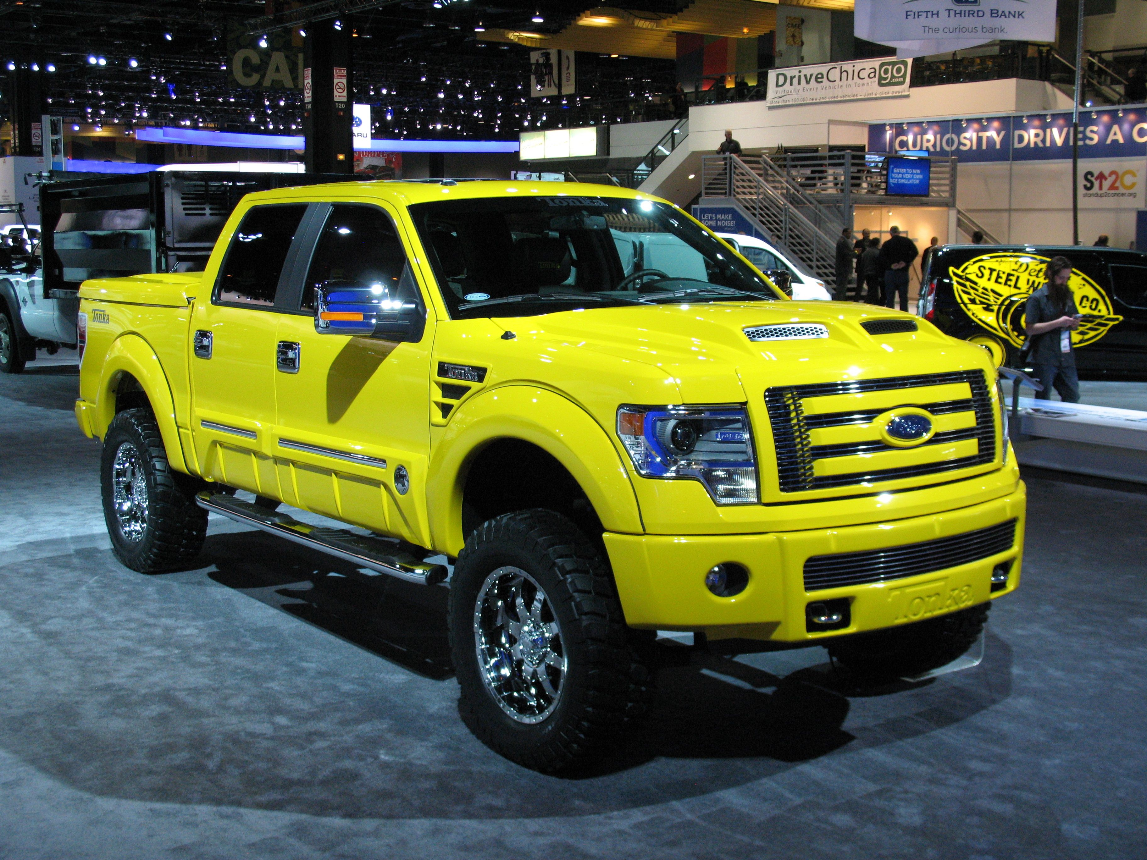 2014 ford f 150 tonka pickup truck nice rides pinterest. Black Bedroom Furniture Sets. Home Design Ideas