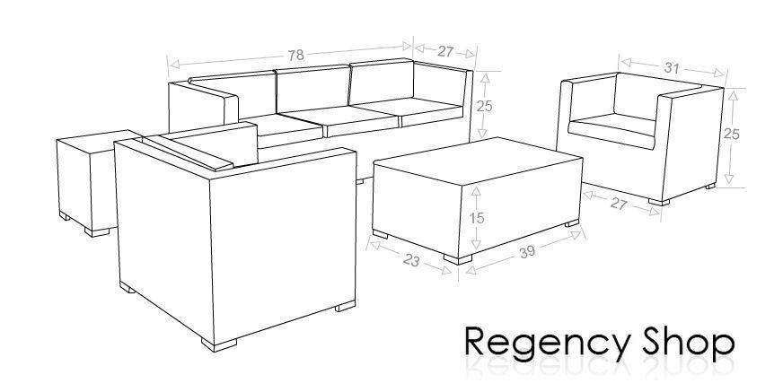 Sofa Dimensions Inches Google Search Dimensions Furniture