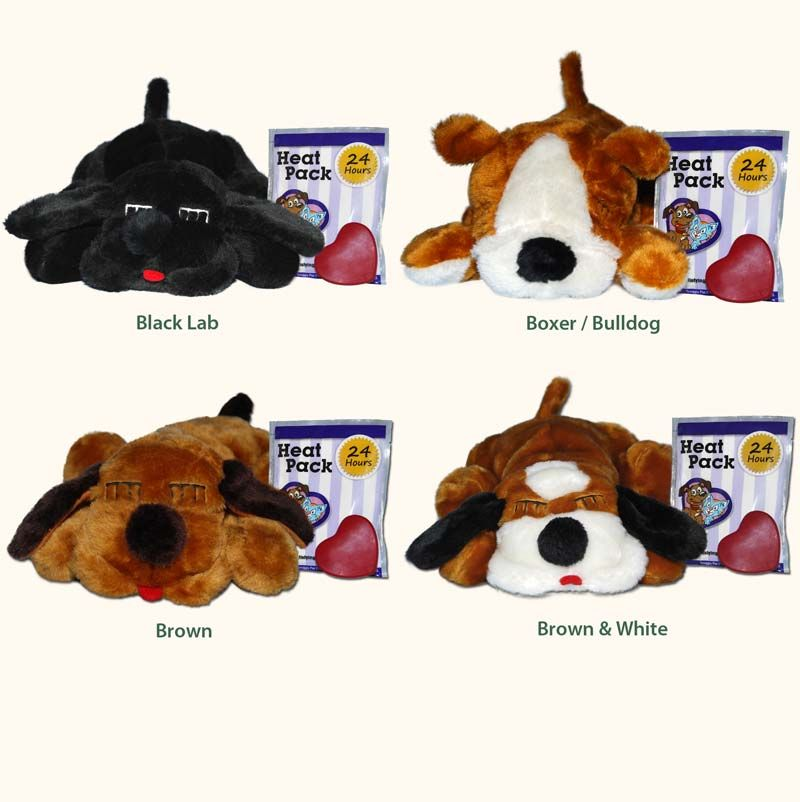 Snugglepuppy Dog Toy With Heartbeat Warmer Comforts Puppies