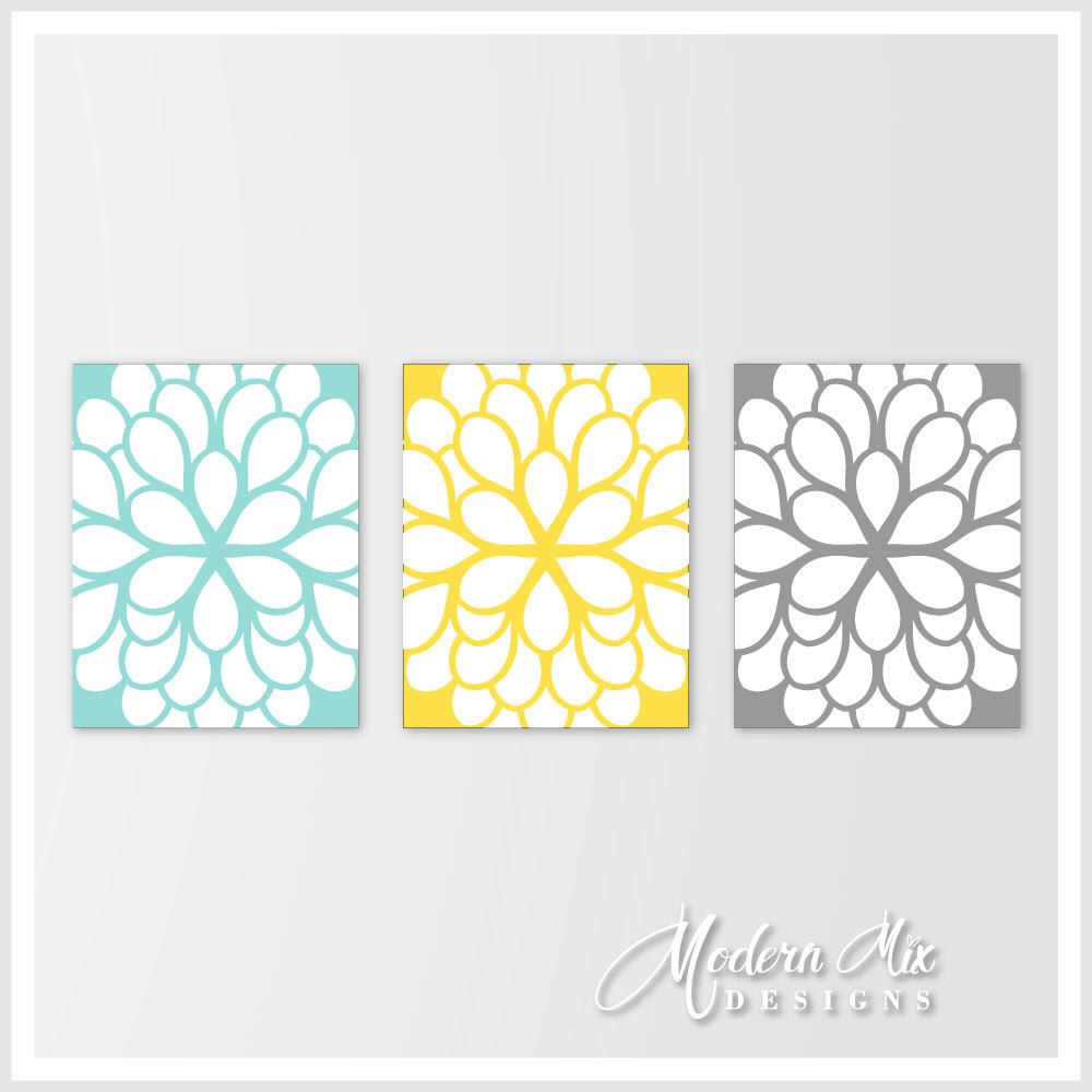Wall Decor Living Room Home Decor, Kitchen Wall Decor, Canvas Floral ...