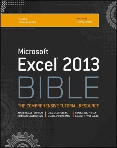 Excel 2013 Bible Bible Exposition Pinterest Bible