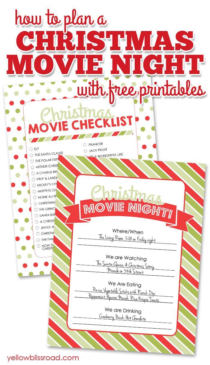 Christmas Potpourri Gift Idea & Free Printable | Christmas movie ...