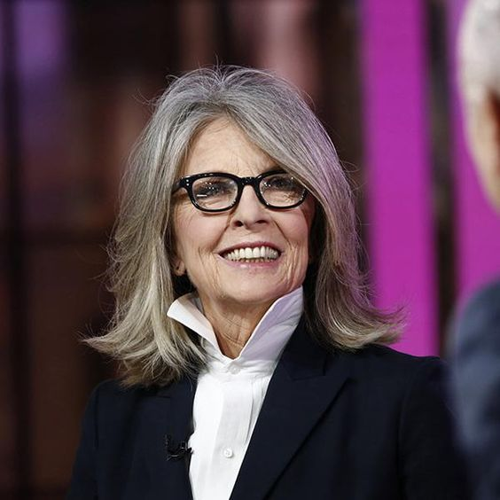 Hairstyles For Women Over 60 Diane Keaton,.,