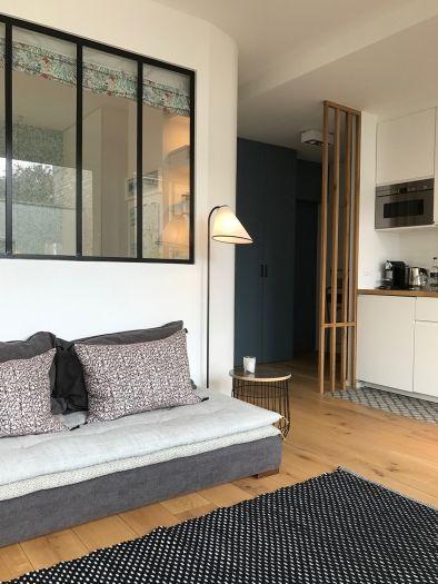 55m² - Neuilly-sur-Seine aménagé et décoré par la décoratrice d