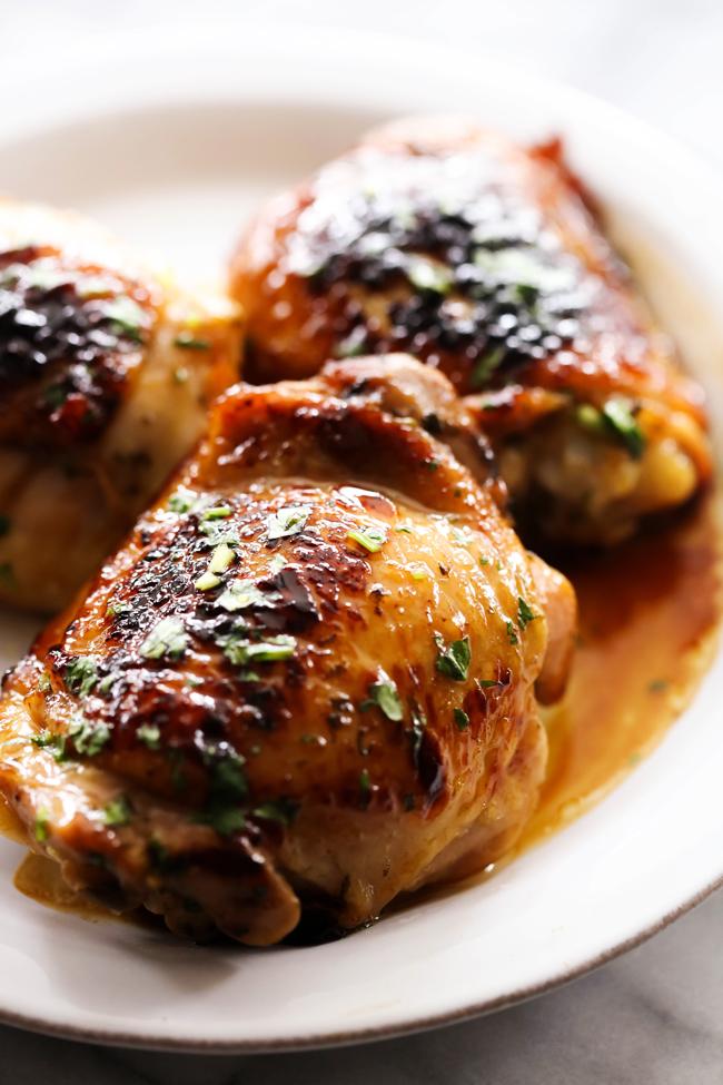 Skillet Cilantro Honey Lime Chicken - Chef in Training