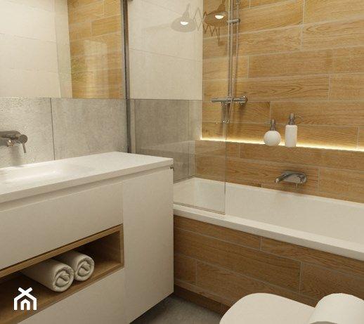 Aranżacje Wnętrz łazienka łazienki W Stylu Skandynawskim