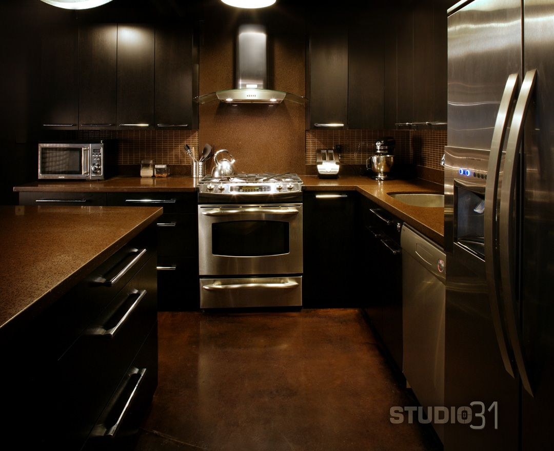 9 spielerische dunkle Küche Designs einrichtung kitchen diy ...