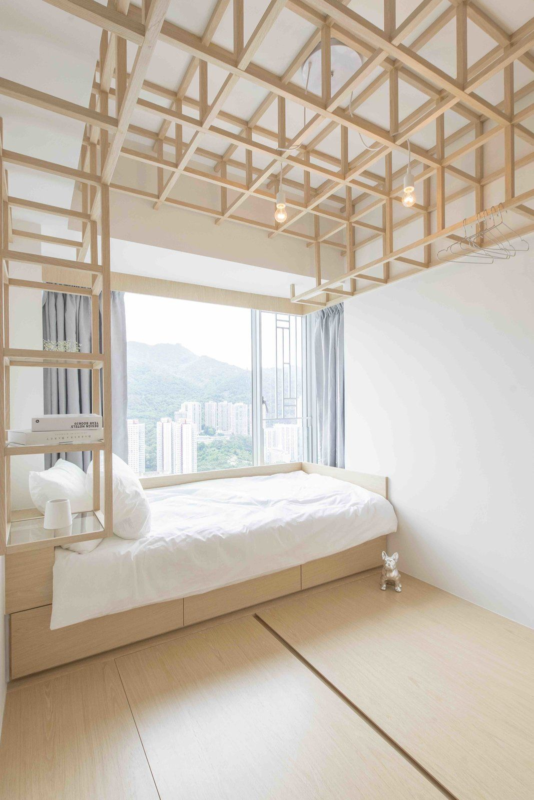 An Origami-Inspired Apartment In Hong Kong With Tons Of