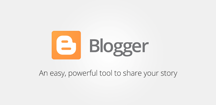 Blogger, get blogging, quick and easy, great integration with G+