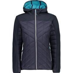 Cmp Damen Jacke Jacket Fix Hood, Größe 44 In Blau F.lli Campagnolof.lli Campagnolo