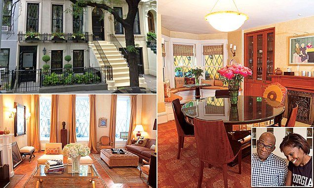 Al Roker Opens The Doors To His Luxurious Manhattan Brownstone Brownstone Brownstone Homes Warm Color Schemes