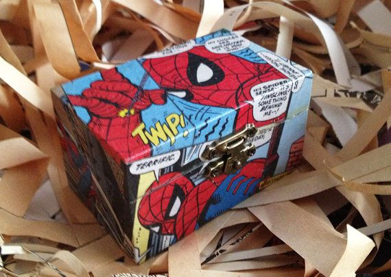 Spiderman Comic Box