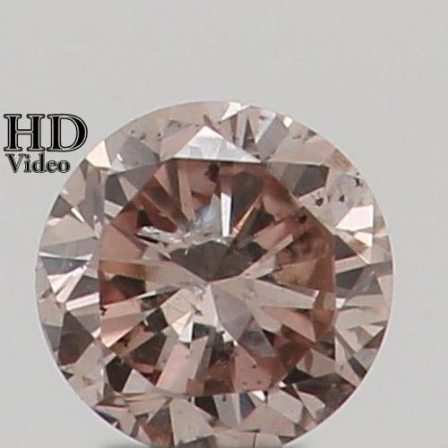 2.20 MM 0.05 Ct Natural Loose Diamond Cut Round Shape K Color SI2 Clarity L7803