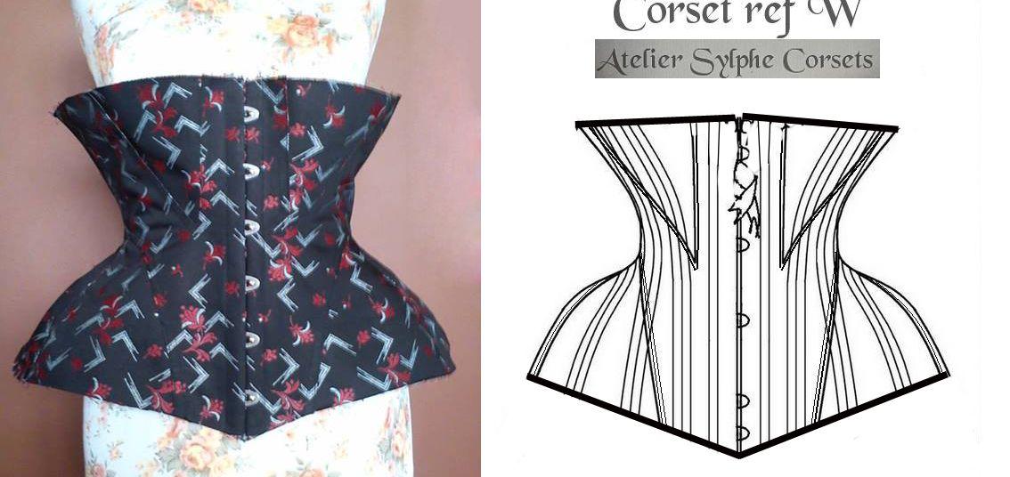 a6a2a3e201 my version of Atelier Sylphe ref W corset (in progress) by SnowBlack Corsets
