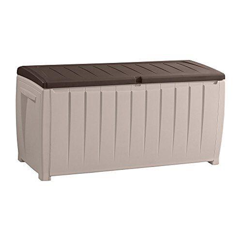 keter novel plastic deck storage
