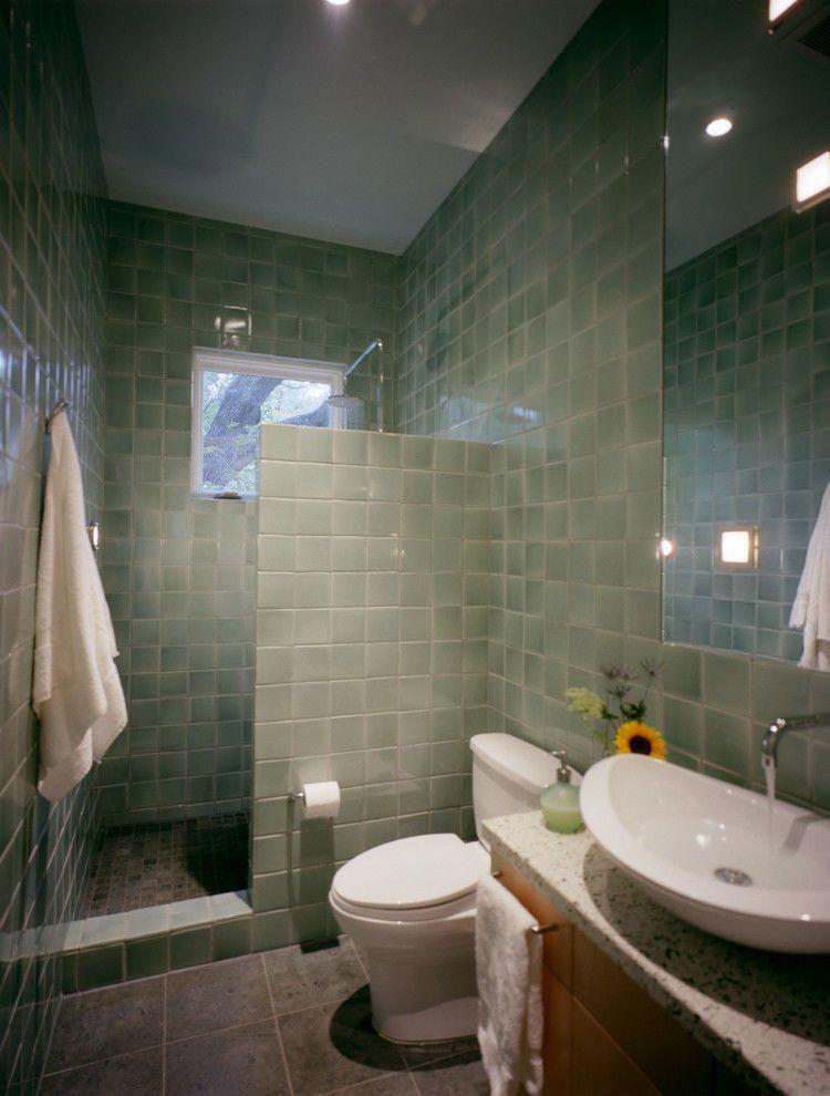 Doors Small Bathroom Doorless Shower Ideas Clean And ...