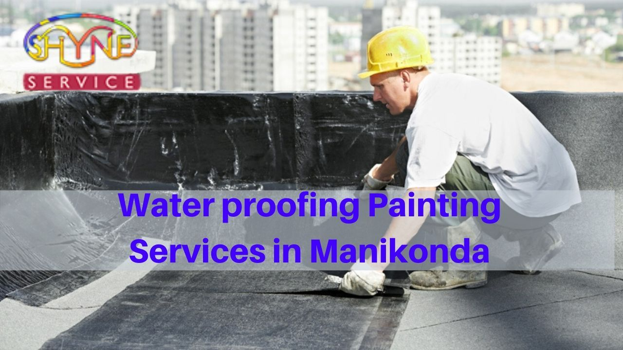 Shyne Service Provides Waterproofing Painting Services Services With Best Price In Manik Painting Services House Painting Services Waterproof Paint