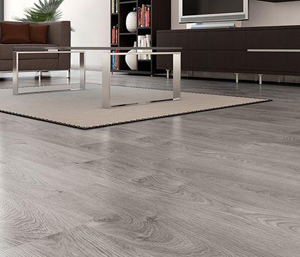 Basic suelo laminado gris ac5 proyecto faustina for Suelos laminados claros