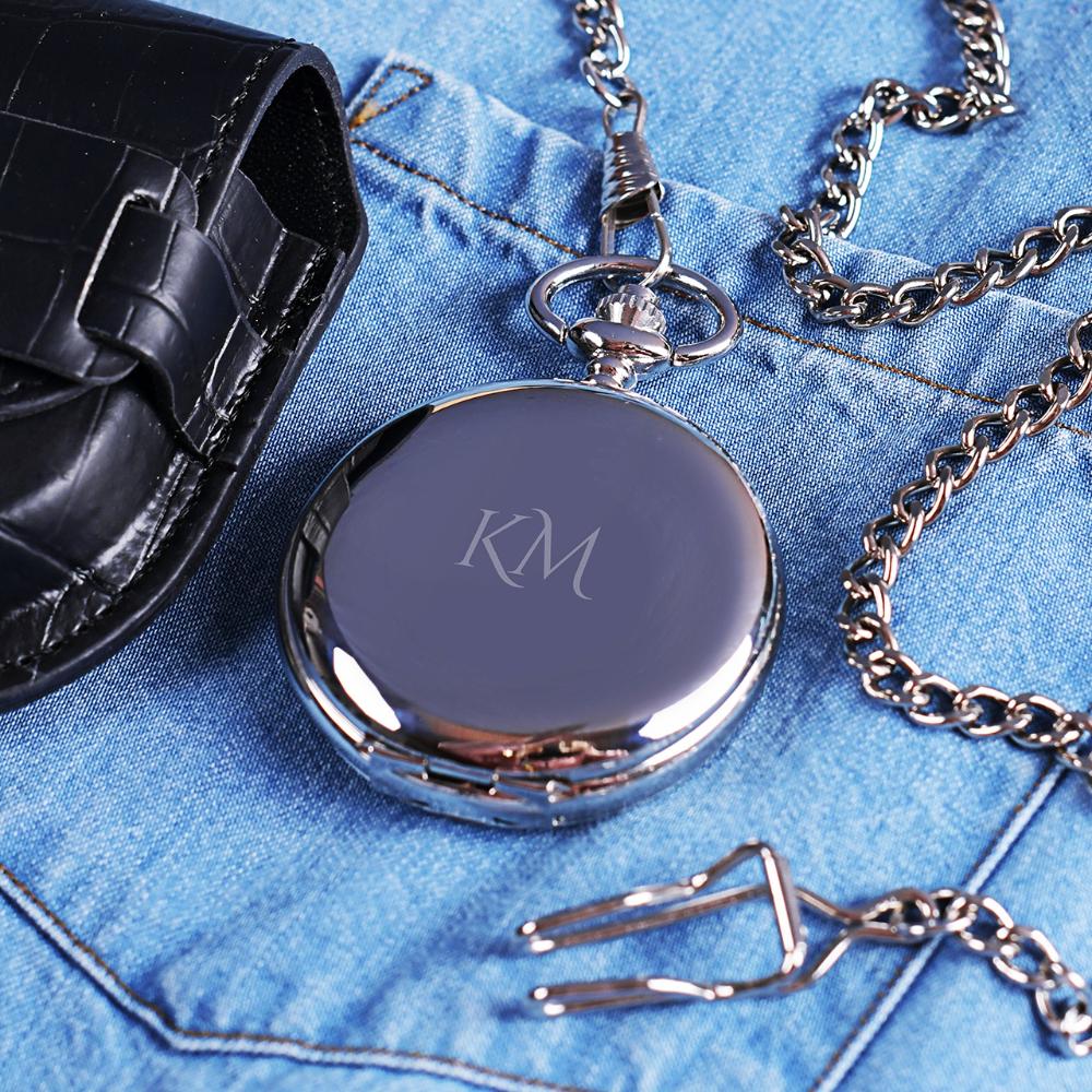 Zegarek Kieszonkowy Inicjaly Elegancki Prezent Wearable Smart Watch Watches