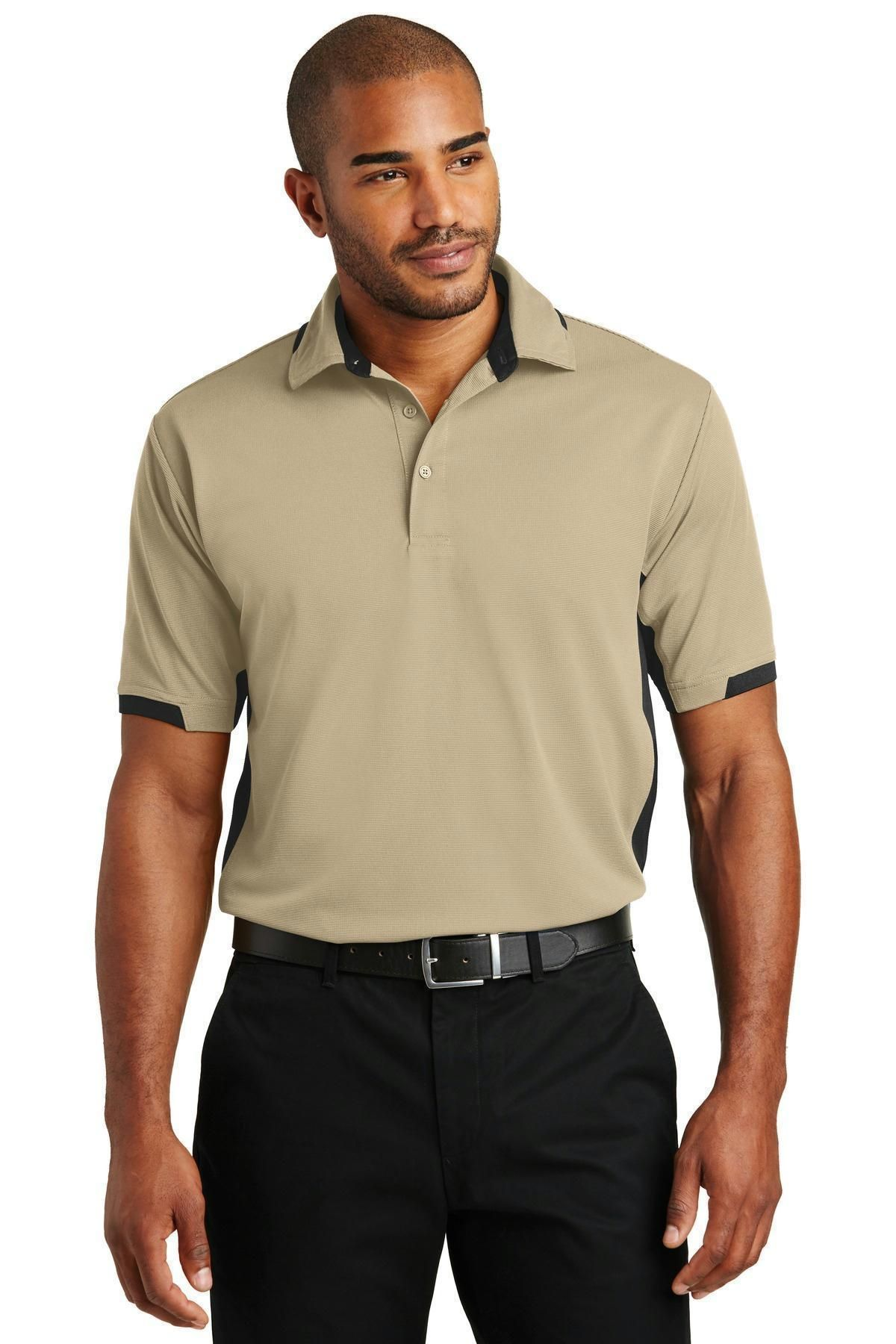 Port Authority Mens Dry Zone Ottoman Polo