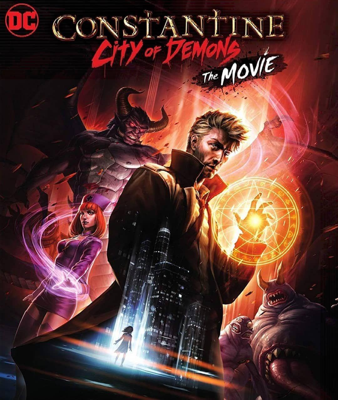Constantine City Of Demons E O Novo Filme Animado Da Dc O Longa