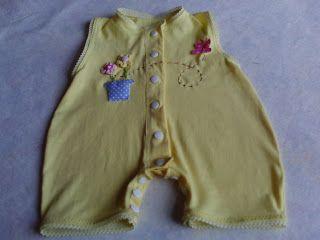 Nini Artes: Moldes - Macacão bebê