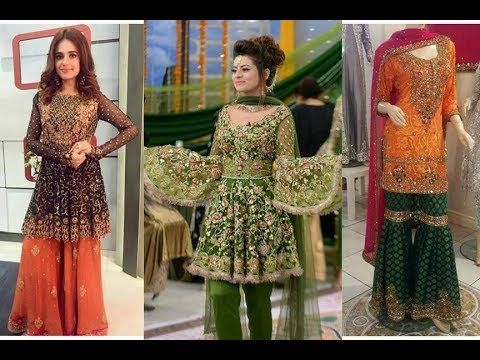 3afa98392d4 Latest Pakistani And Indian long Frocks -Maxi Designs 2017-2018 - YouTube