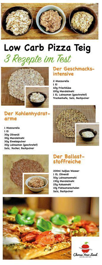 Pizzateig ohne Mehl - 3 Rezepte im Test - Choose Your Level