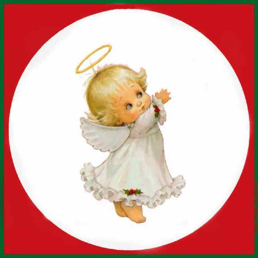 Christmas Baby Angel Clip Art - 2