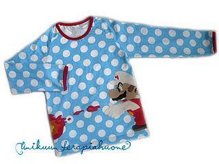 so ein geiles shirt - und die farben passen perfekt zusammen...