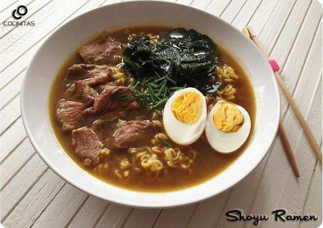 Shoyu Ramen (by Cocinitas) #cocinitasblog #shoyuramen #ramen #cocinitas
