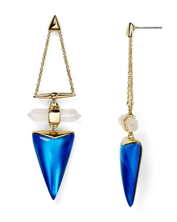 Alexis Bittar Lucite Dangling Post Drop Earrings
