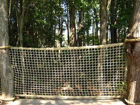 Nautical Net Fence Google Search Rope Fence Backyard