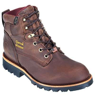 29fbde40432 Chippewa Boots: Men's Insulated Waterproof 25203 USA-Made Brown ...