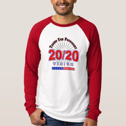 Family Gift Ideas For Christmas 2020 2020 Re Elect President Trump 45 Election T Shirt   Zazzle.