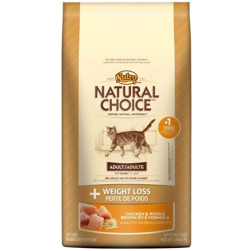 Natural Choice Weight Management Adult Cat Chicken And Whole Brown