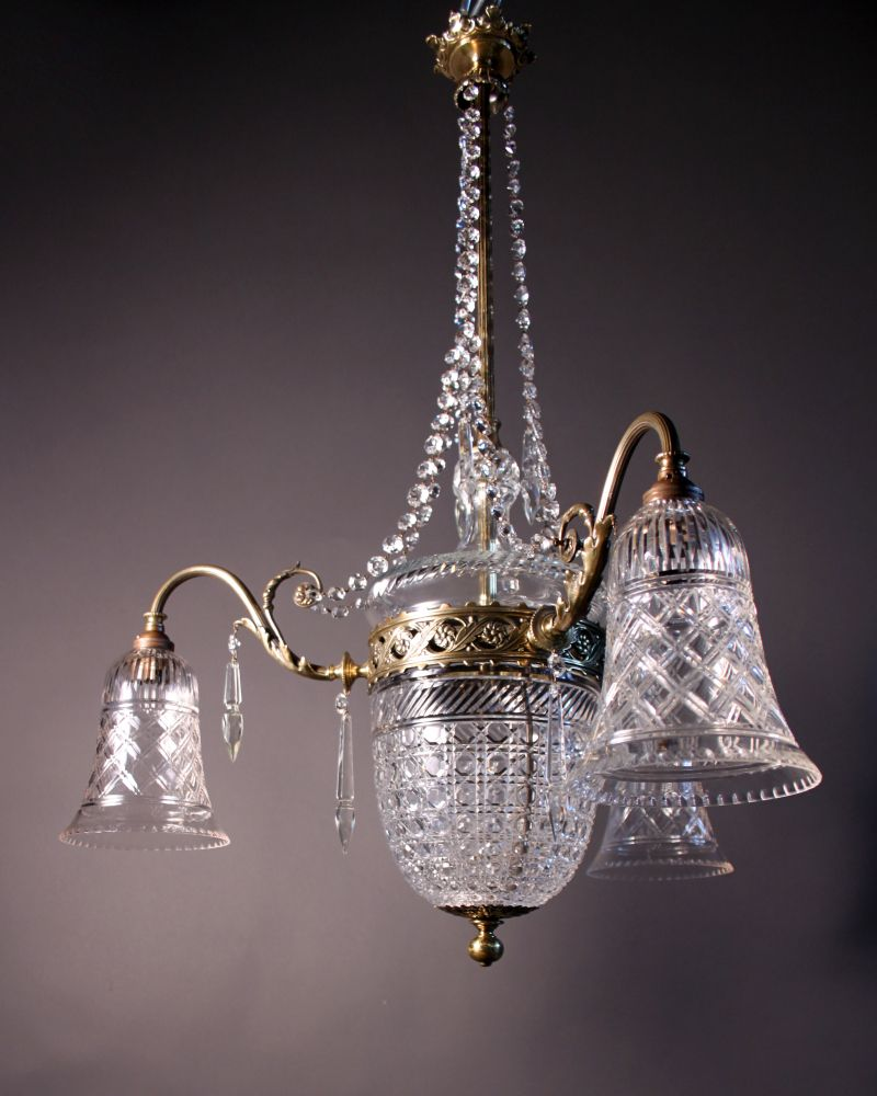 antic most beautiful cristall chandelers antique