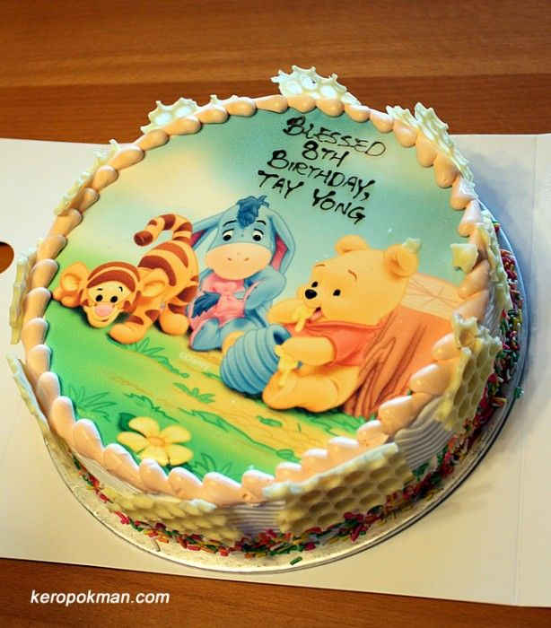 Bolo Aniversario Ursinho Pooh Puff Com Imagens Ursinho Pooh