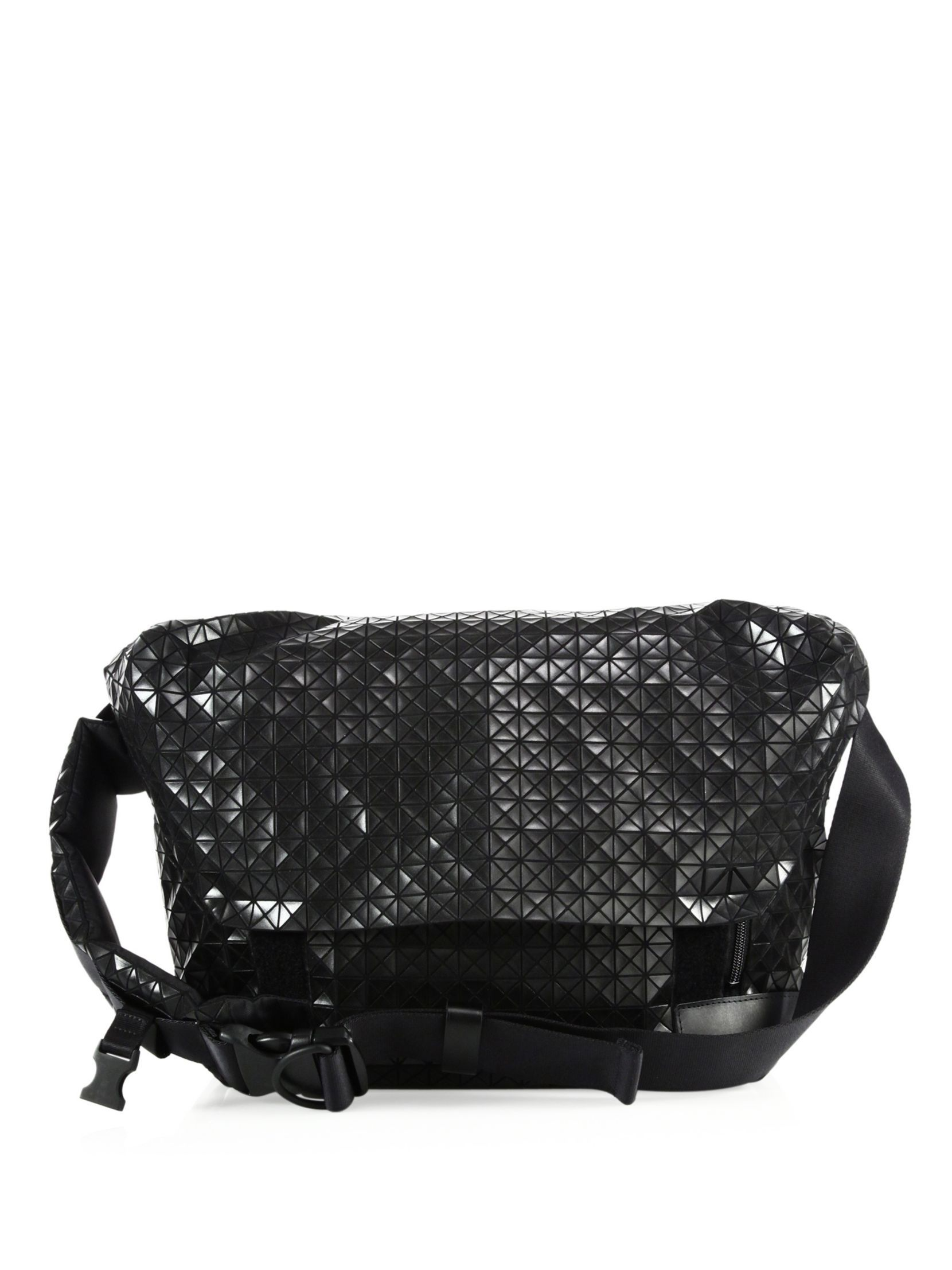 Bao Bao Issey Miyake Geometric Paneled Rider Messenger Bag   Bags 19339a6fd0