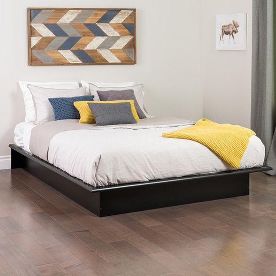 58 Awesome Platform Bed Ideas Design Wood Platform Bed Queen