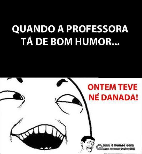 professora de bom humor