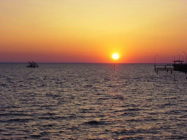 sunset in Fairhope