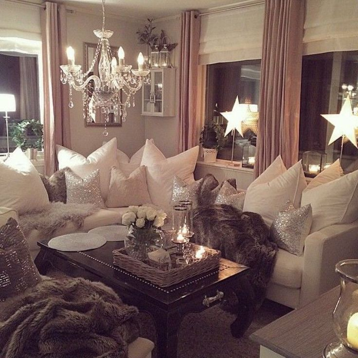 Glamorous Living Room Designs That Wows: Wow Ladies Dream Hangout! Luxury And Glamour Decor