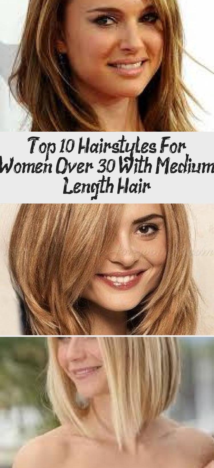 Top 10 kapsels voor vrouwen ouder dan 30 met halflang haar - Lina's  blog in 2020   Top 10 hair styles, Hair lengths, Medium length wavy hair