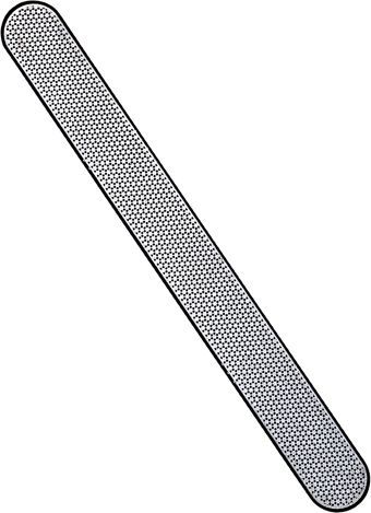 Diamond Nail File Made With Ground Dust Prevents Ling Or Splitting 7 Inch