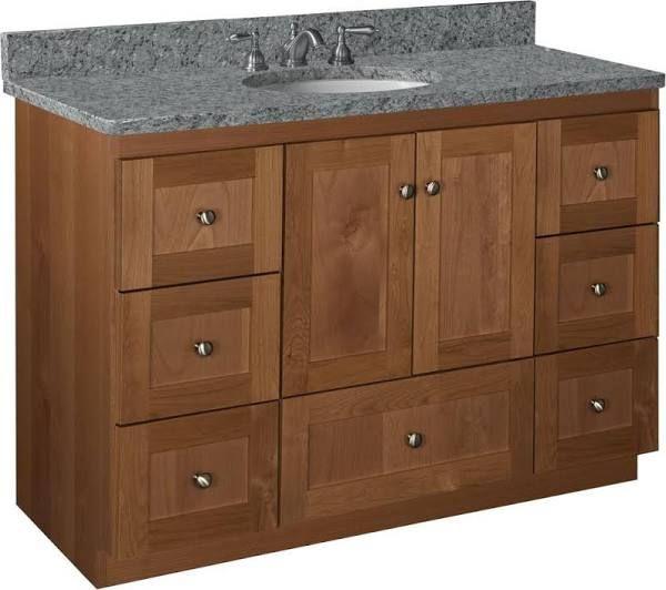 Bathroom Vanity Solid Wood Drawers Vanity Cabinet Bathroom