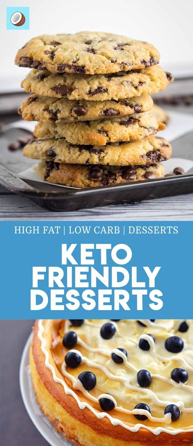 COMPLETE LIST OF KETO DESSERTS - LOW CARB SUGAR FREE ...