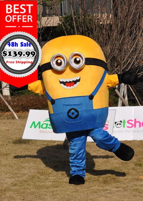 http://www.mascotshows.com/product/minions-double-eye-mascot-costume-despicable-me-character ...
